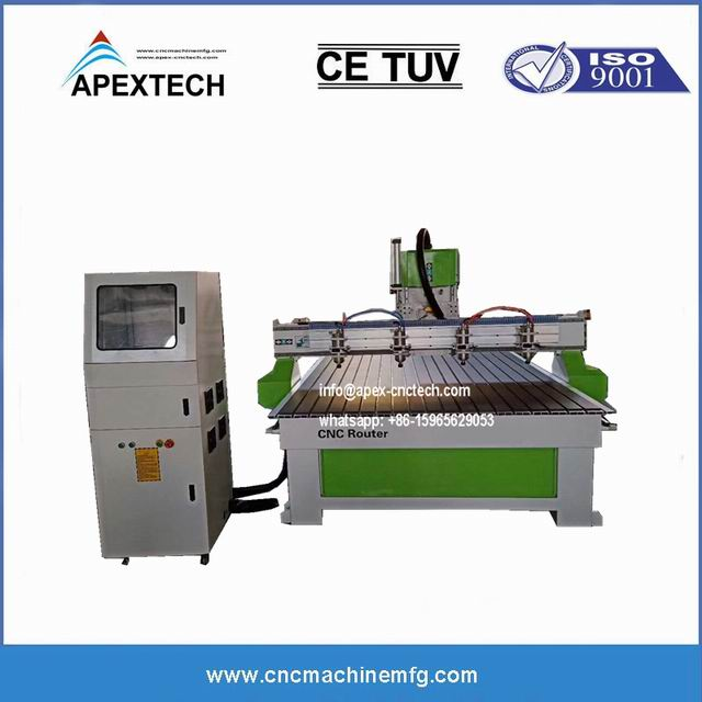 1530-6-8 watercooling Spindle Cutting Machine CNC Router With Chipboard MDF Plywood Acrylic
