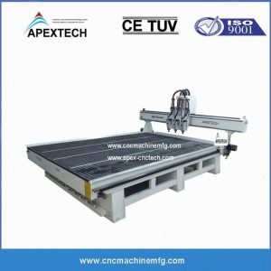 2030 pneumatic cnc router machine for woodworking furniture with 2030-3 multiple spindles