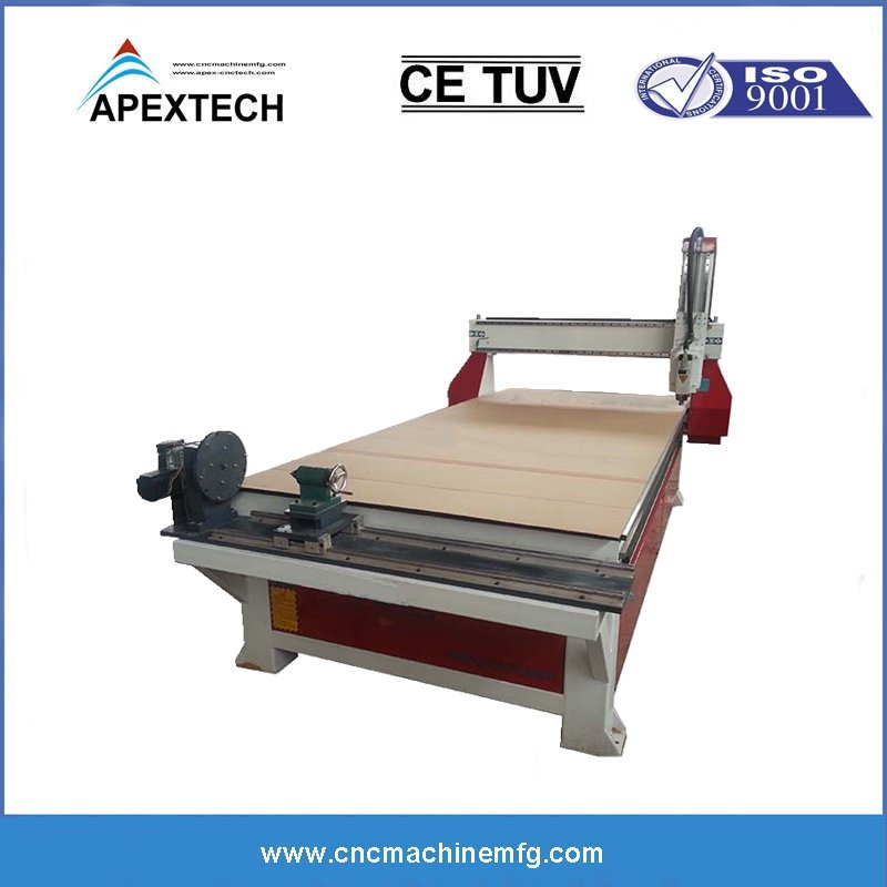 4 Axis Rotary Engraving CNC Wood Router For Sale With Cost Price