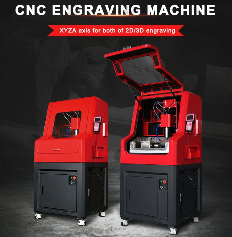AH 4Axis Jewelry CNC Machine for Quartzite/Crystal Engraving
