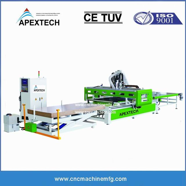 China 1325-auto-nesting-cnc-wood-router-machine-for-custom-furniture on sale with affordable price (1)