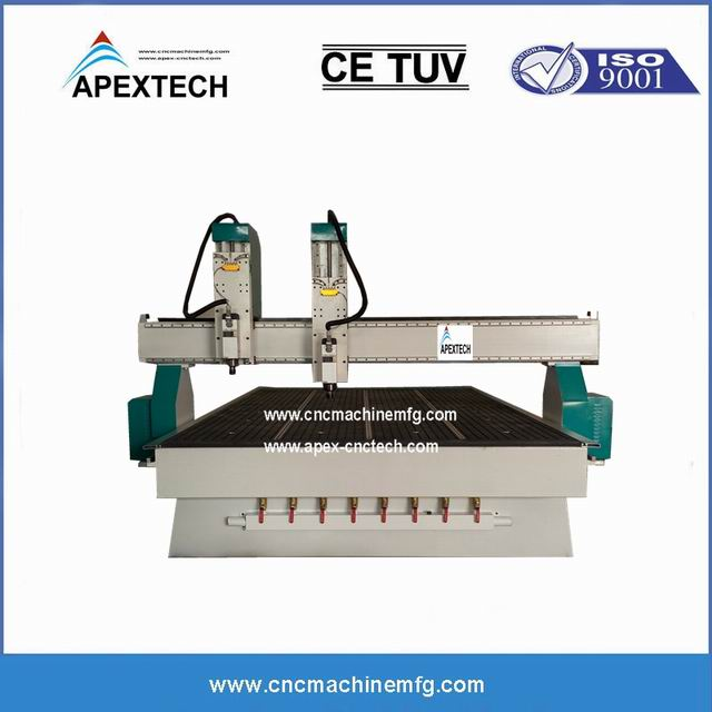 3d Carving Cnc Router Machine With 2 4 Heads For Sale With