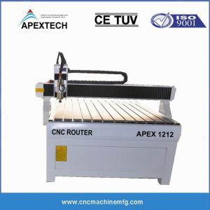 advertising small cnc router 3axis 1212 with 4x4 size Sign Making CNC Router Machine