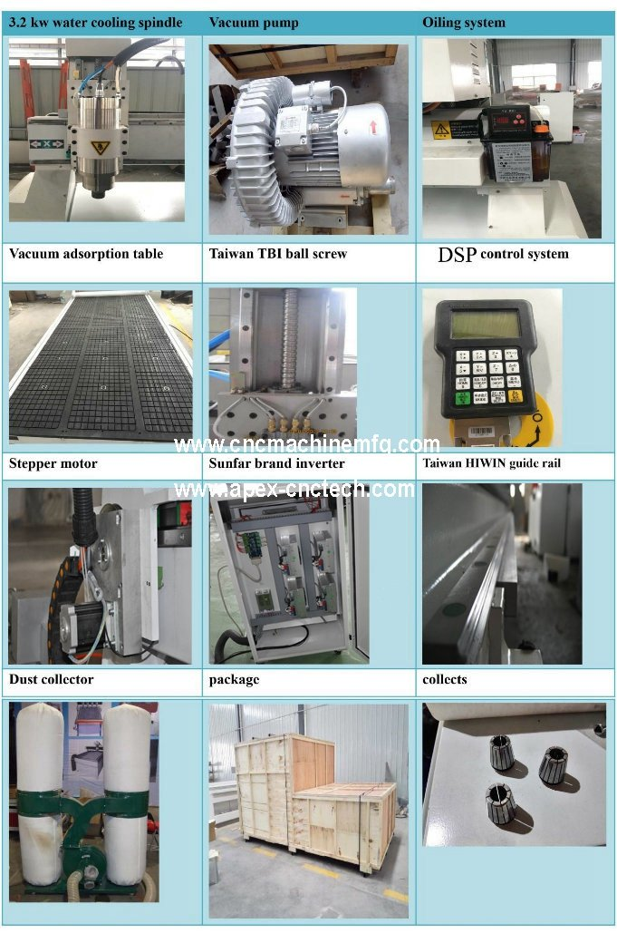 A2030 MDF CNC Engraving Machine for Solid Wood Furniture, Windows, Doors, Lockers, Drawers