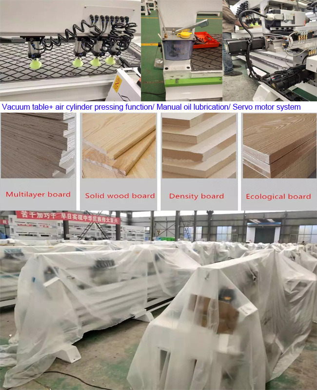 Single Spindle CNC Side Drilling Machine for panel furniture doorkitchen cabinet door and other wood product