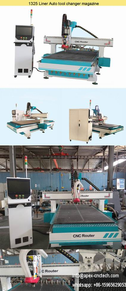 1325 Wood Carving Door CNC Router Oil Drilling Furniture Machine details