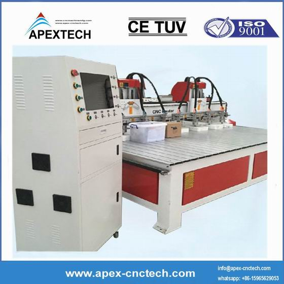 4 Axis 3D 1530 CNC Router for Wood, Woodworking, Advertising 4X8 Feet