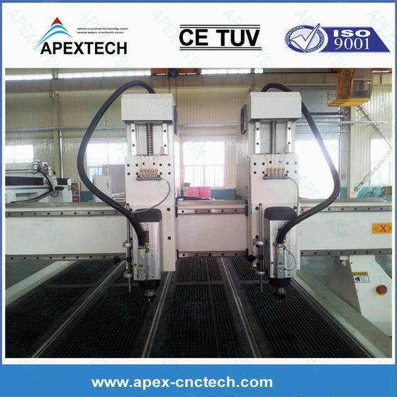 Acp Wood Carving Machine Cnc Router 2030 With 6kw Spindle