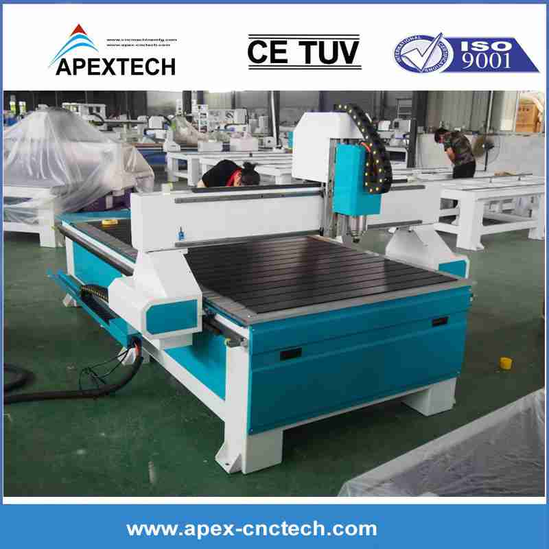CNC Wood Router 8x4 For ABS Cutting, PVC MDF Cut Engrave