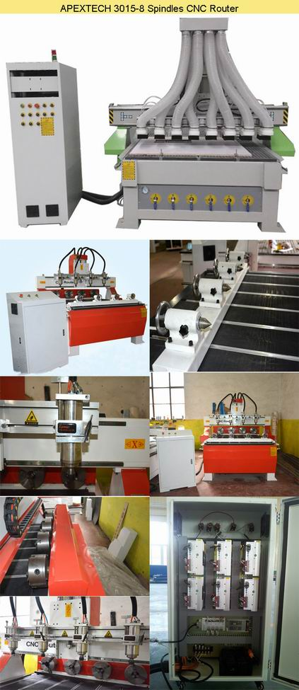 China OEM Taiwan Linear Wood CNC Router 1325 1530 machines details