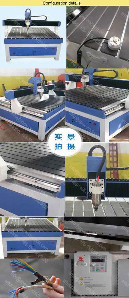 Mini CNC PCB Router for Advertising Cutting Engraving Machines ZK1212