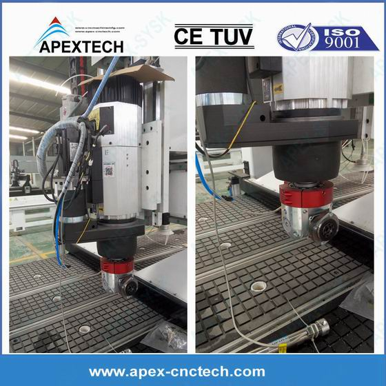 Side Hole Drilling Machine with 1530 Nesting Solution Processing Cente