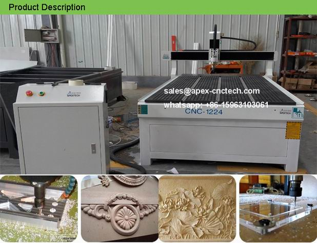 A1224 Perfect Hobby CNC Machine MDF Bench Top Woodwork CNC Router