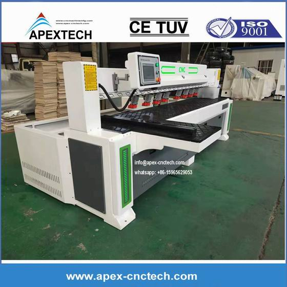 CNC horizontal side hole drill plate furniture invisible groove processing equipment router