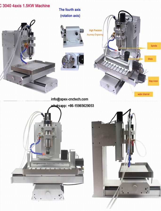5 Axis CNC Router Hobby CNC Machine