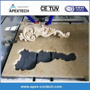 Granite Marble Engraving Machine 3Axis Stone CNC Carving Router for Making Relief Sculpture