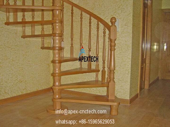 Staircase Columns, Vases, Table Legs music instrument making wood copy cnc router