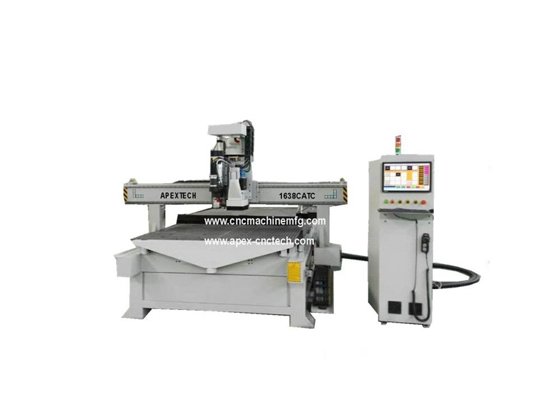 1325 ATC 4 Axis Drilling Head Door CNC Router Machine