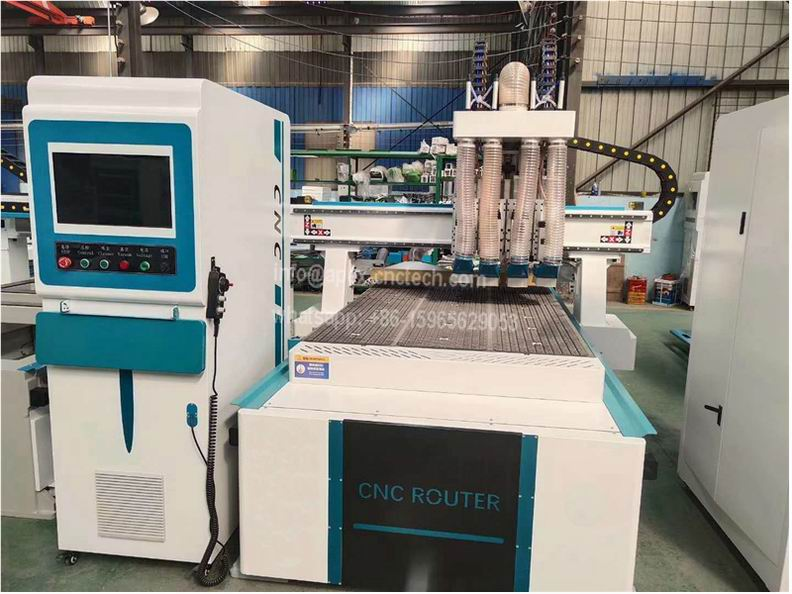 1325 Multi Spindles CNC Router with Pneumatic System