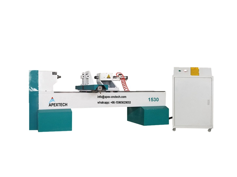 A1530 Single Axis Two Blades Wood Fast Turning Cnc Lathe Machine