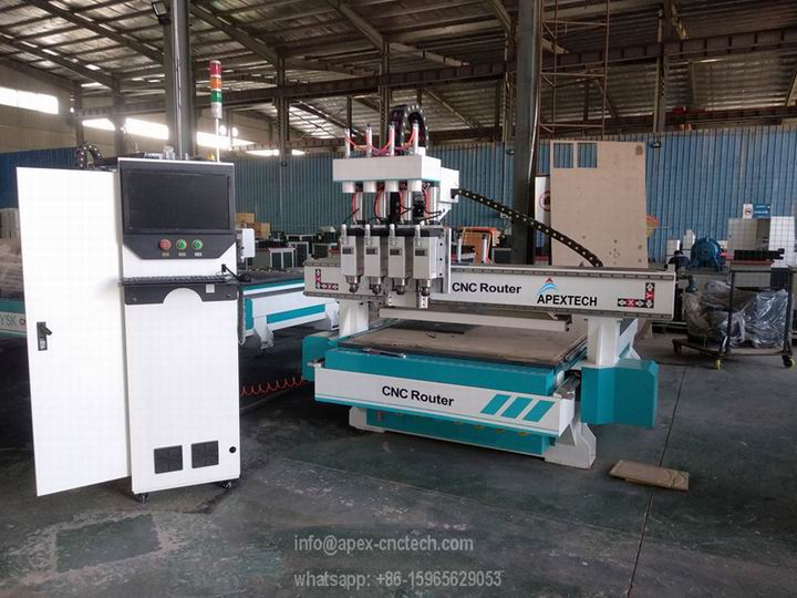 The Most Popular 4 Processes 1325 CNC Wood Router