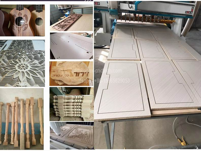 wood furniture wood cnc rouer machine samples
