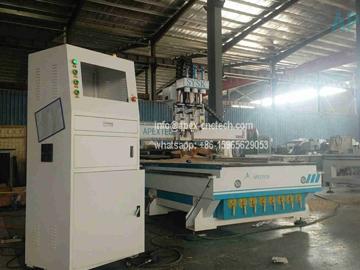 4 Axis CNC Machine Woodworking Router