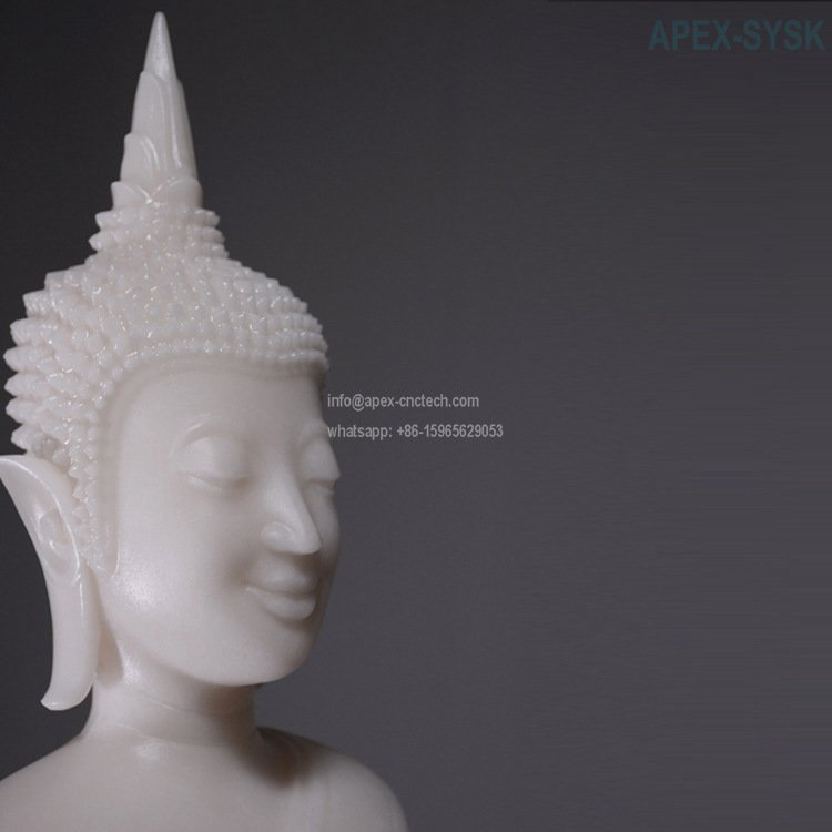 Buddha Statue made by 5 Axis CNC Stone