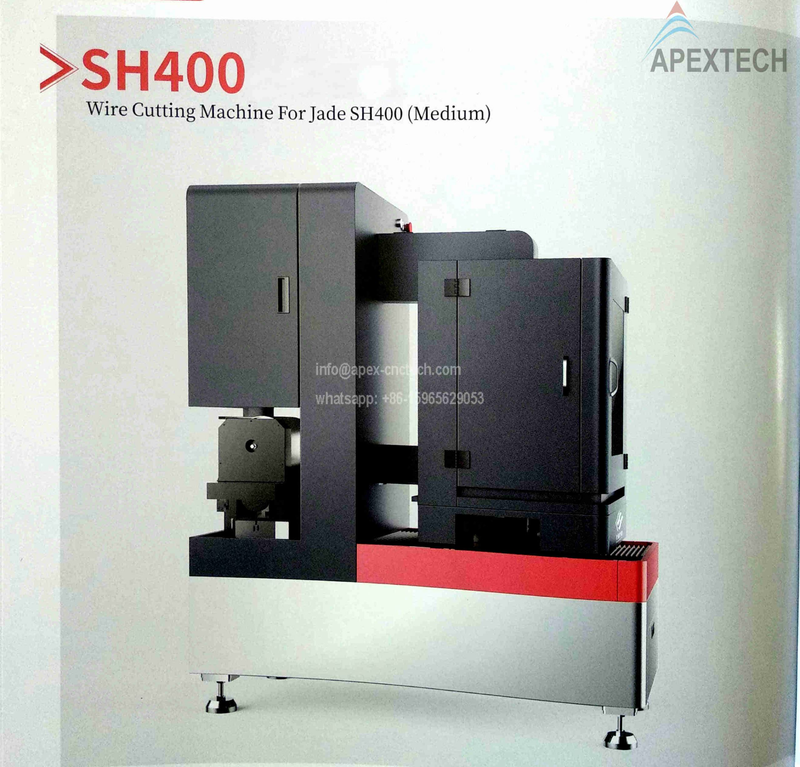 SH400 Wire Cutting CNC Router for Jade