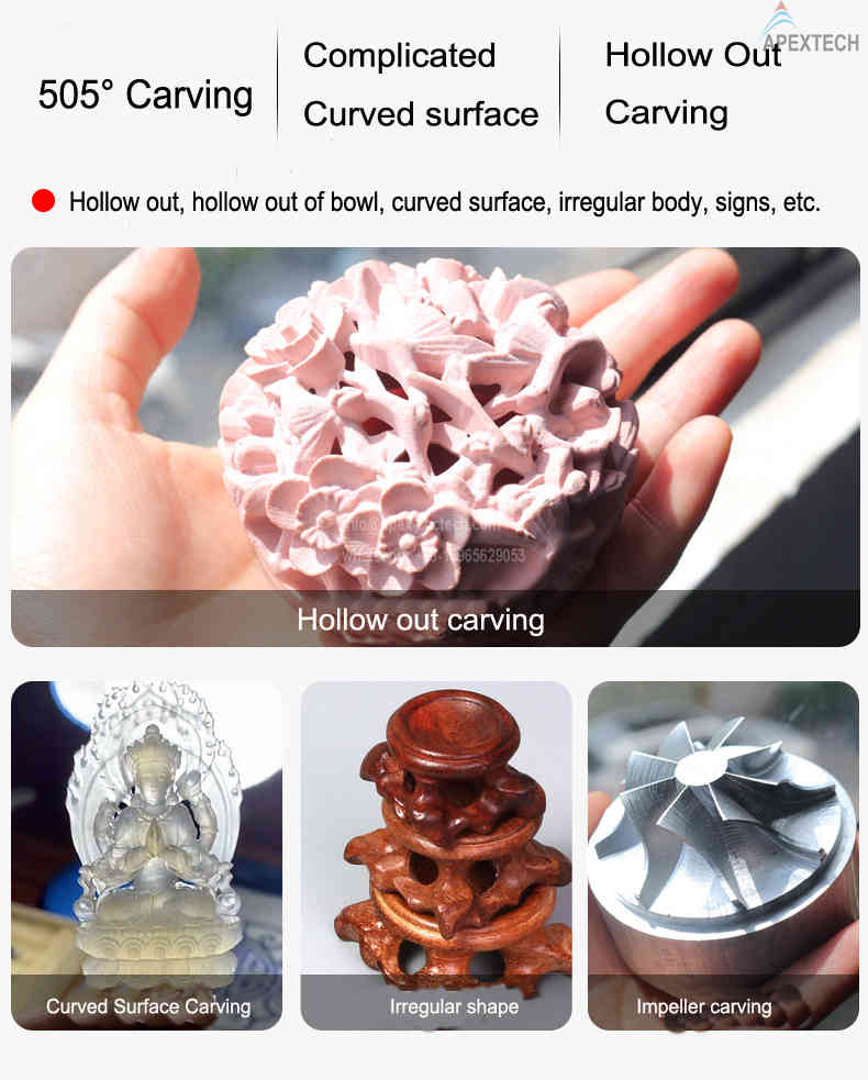 5 axis wood carving statues