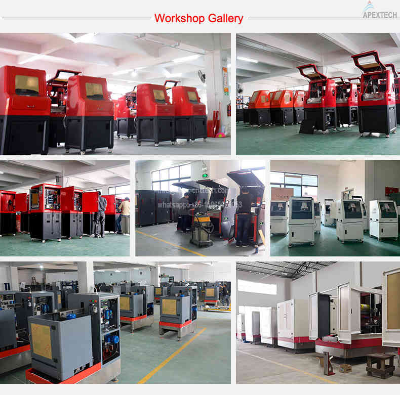 AH 5030-4 Axis Engraving CNC Stone Router