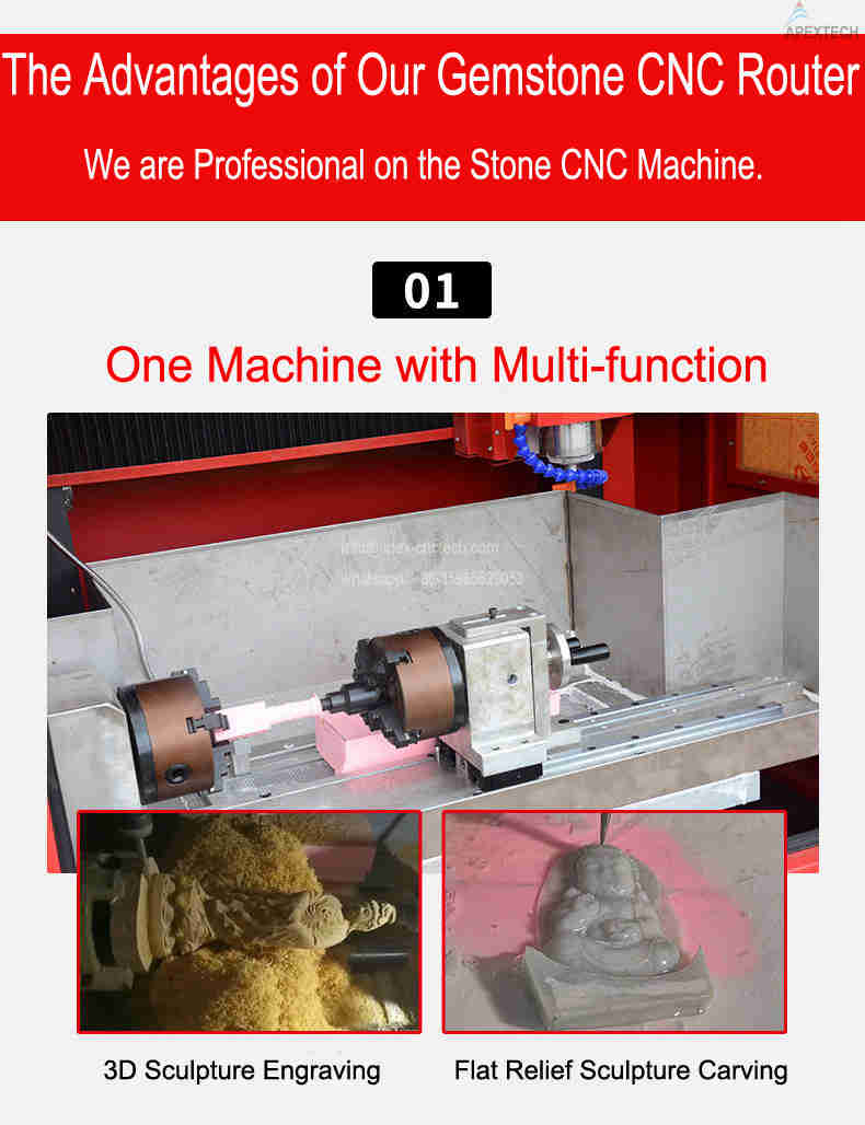 AH 5030 4 Axis cnc router machines for sale