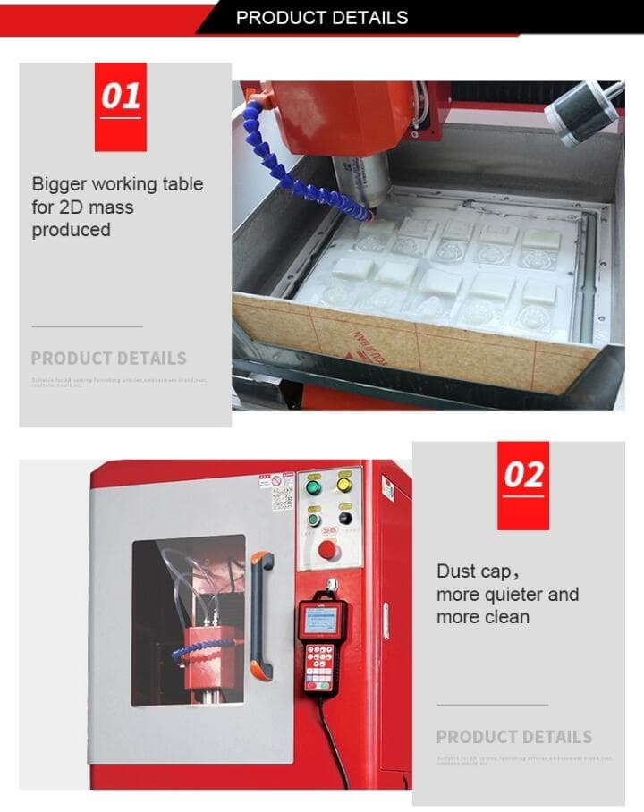 Best 4030P small cnc machine for metal