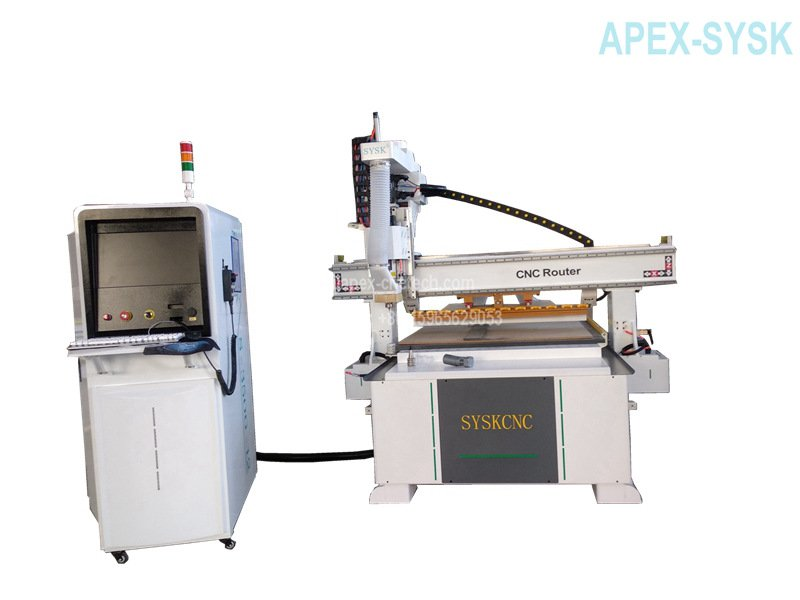 industrial cnc router with auto tool changer