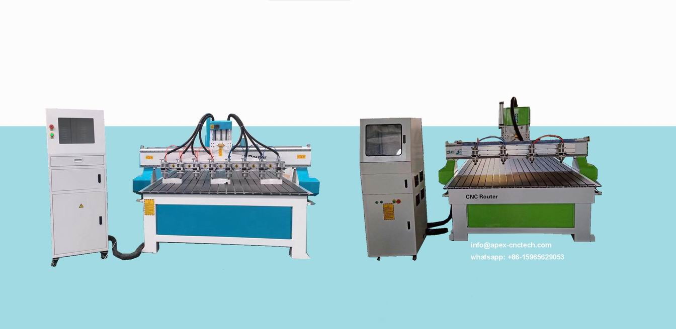 personal cnc machine with 8 Spindles