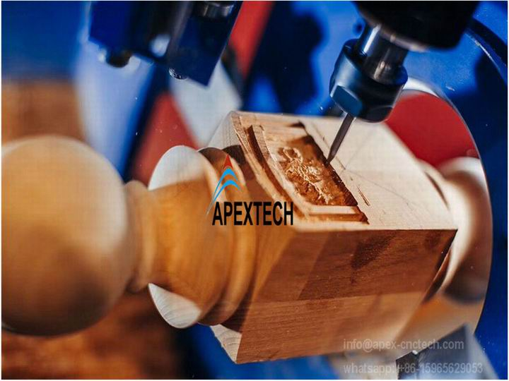 4 axis atc wood turned bowls wood carving machine